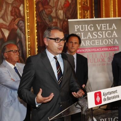 Presentación Puig Vela Clàssica Ayuntamiento Barcelona 2