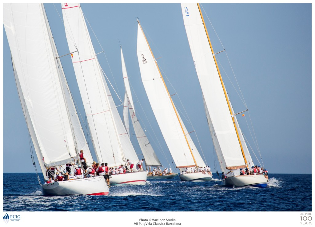 Flota 12 metros en la tercera jonrada del Mundial Puig 12mR