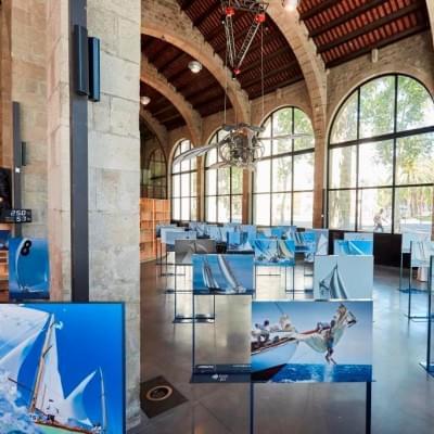 Exposición fotográfica X Aniversario regata Puig Vela Clàssica Barcelona