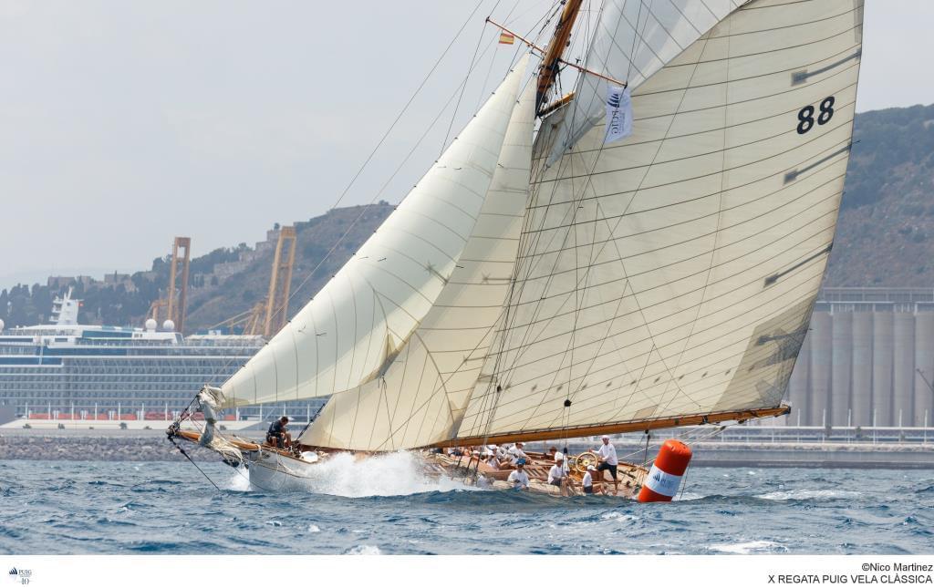 Moonbeam III_Ganador Big Boats X edición Puig Vela Clàssica