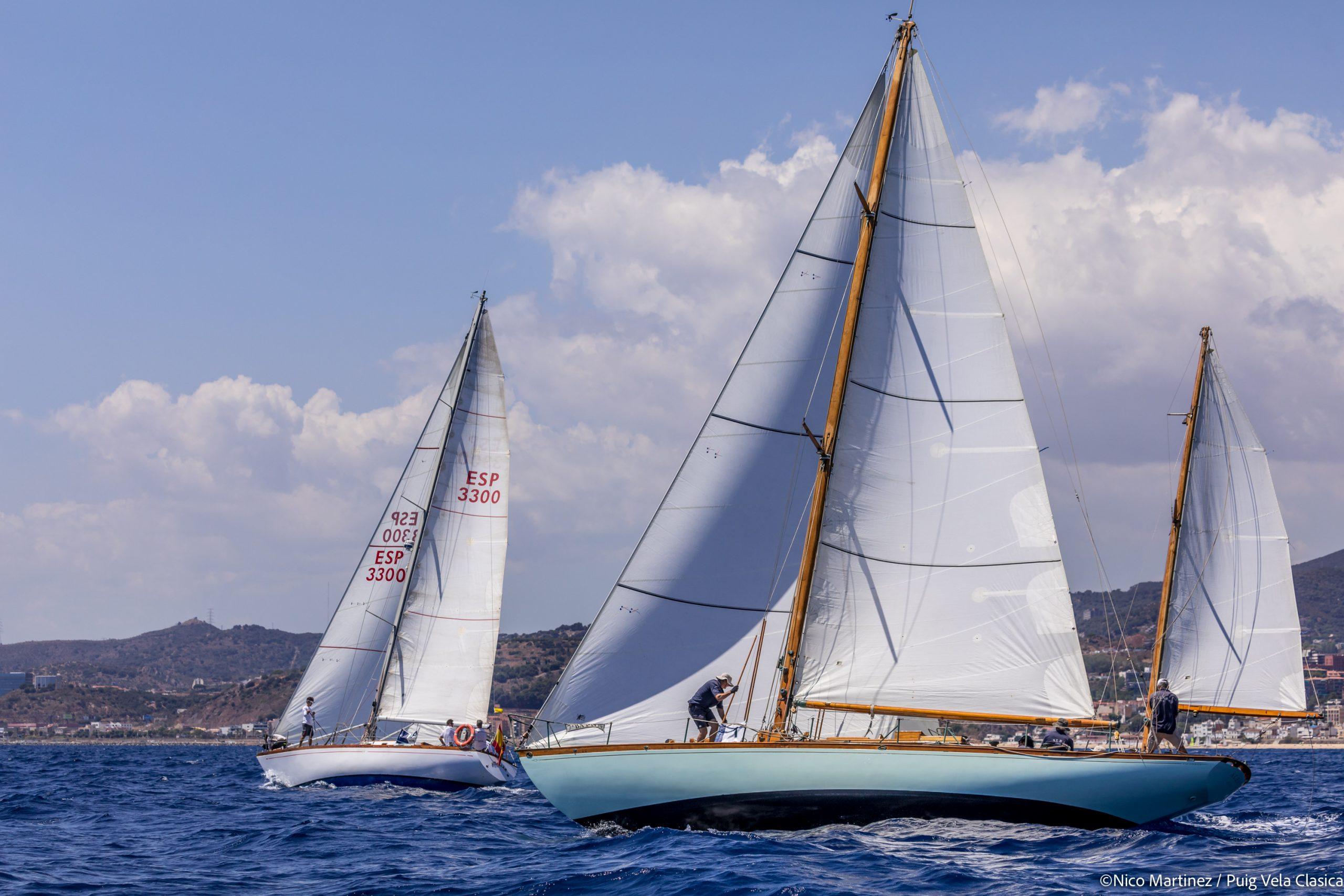 primera jornada de la regata Puig Vela Clàssica