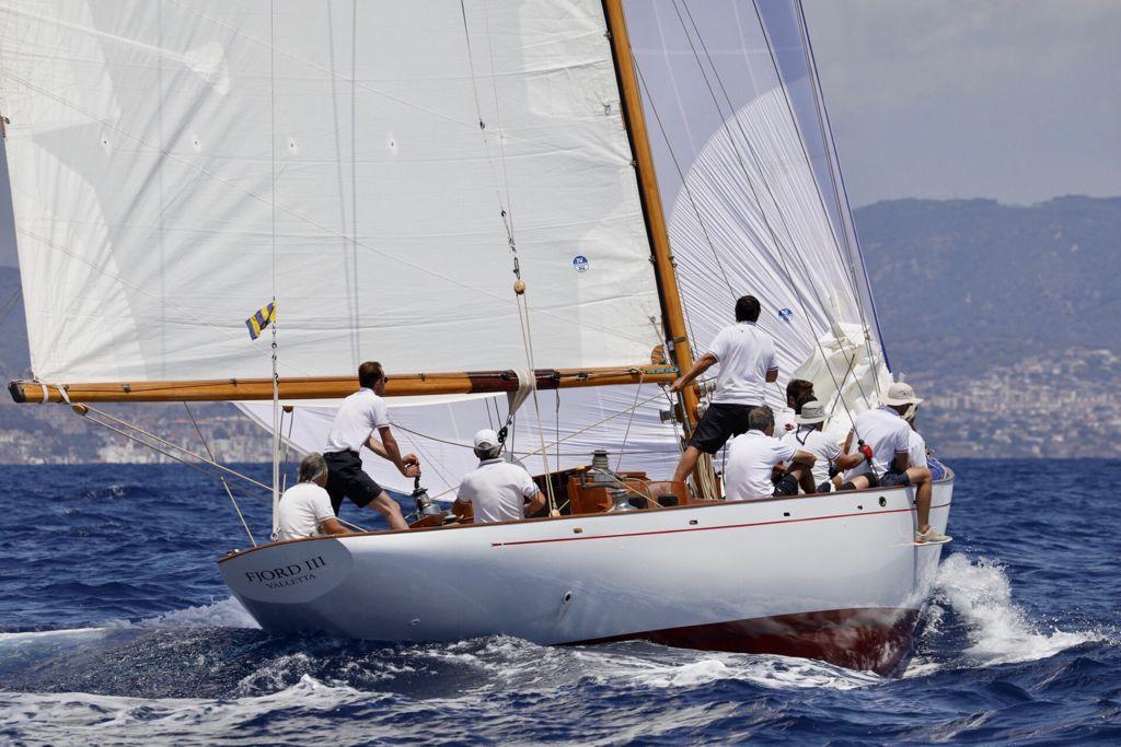 Fjord III primera jornada de la regata Puig Vela Clàssica