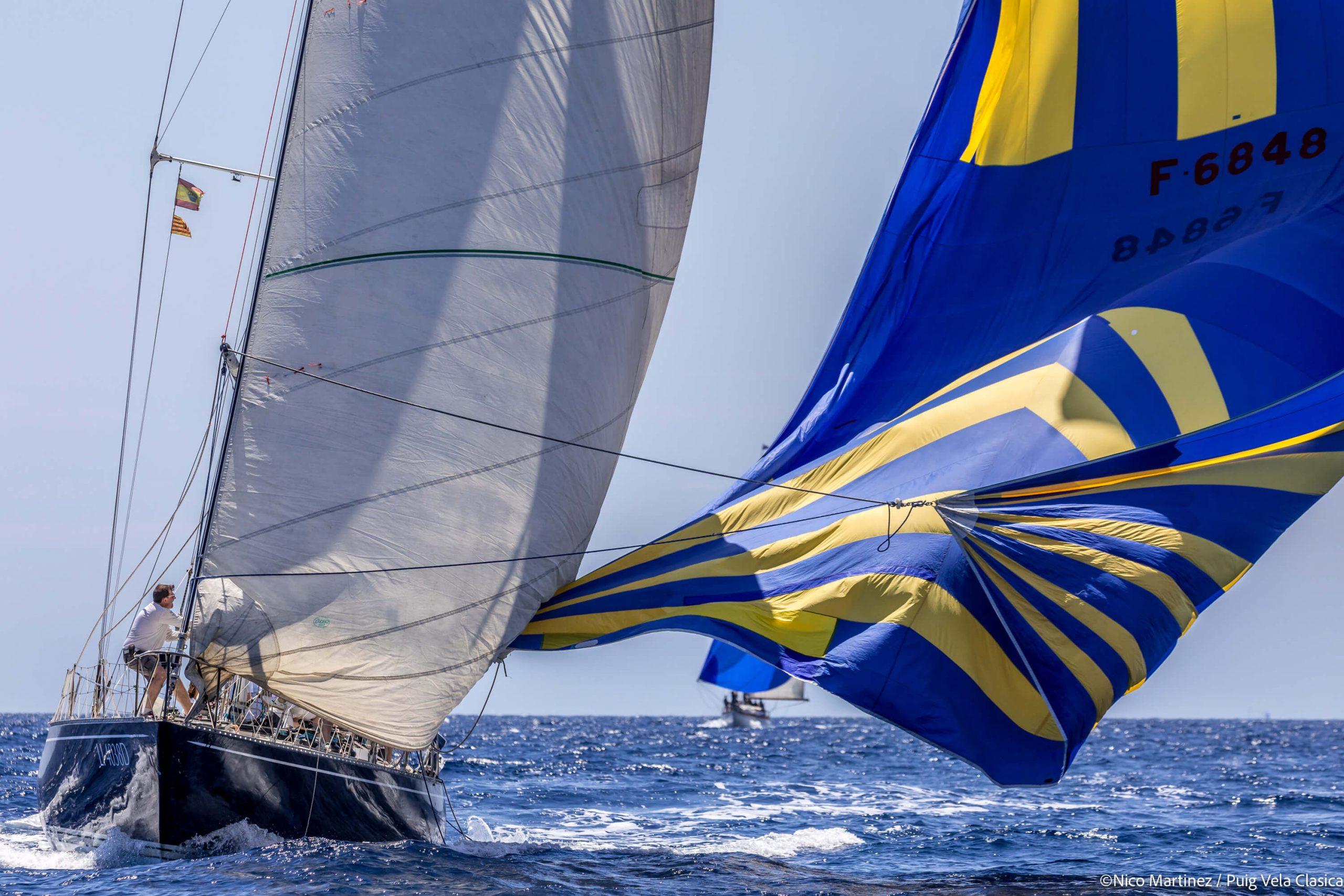 primera jornada de la regata Puig Vela Clàssica 2021